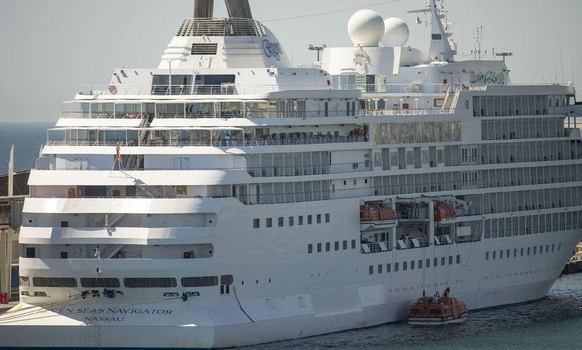 Wycieczkowiec zacumował w Barcelonie. Na pokładzie 26 Polaków