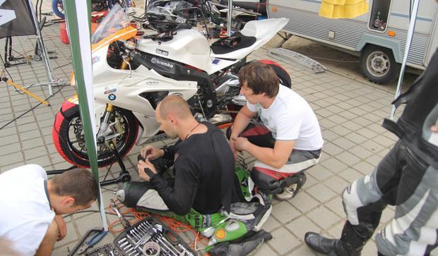 Naprawa motocykla