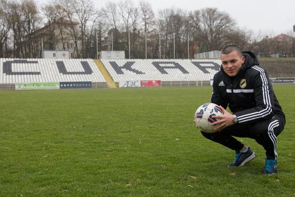 Nemanja Radonjić u Čukaričkom hoće da se vrati na fudbalski put