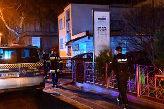 KG PSP: W escape roomie, w którym doszło do pożaru, było wiele niedociągnięć