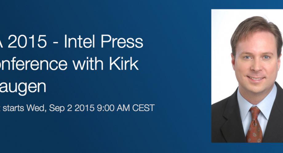 Live von der IFA: Intel-Pressekonferenz mit IoT & Co.