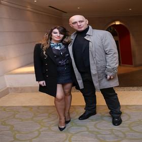 Viki Miljković sa suprugom Tašketom