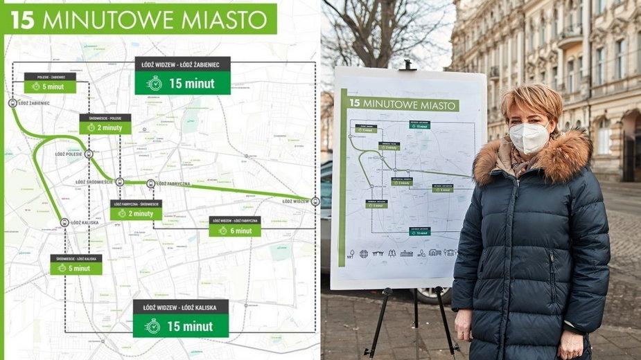15-minutowe miasto. Przystanek Łódź-Centrum