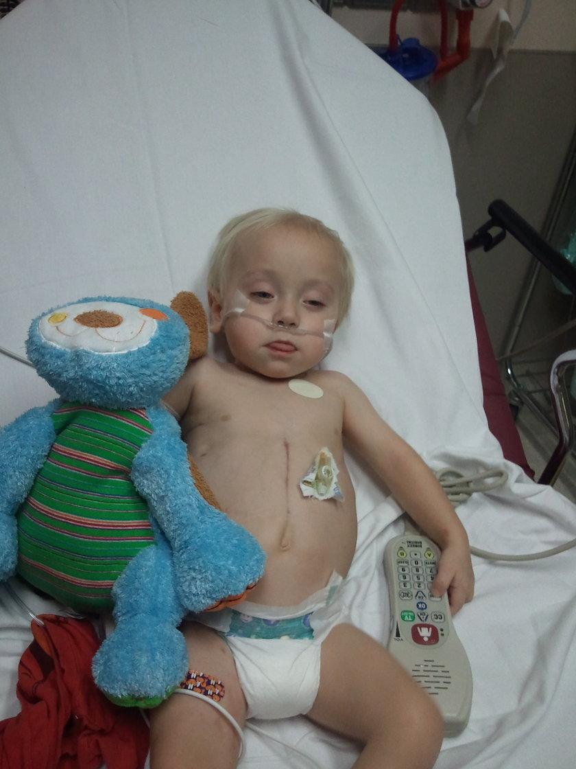 Emmet w szpitalu