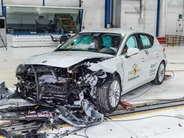 Euro NCAP – testy zderzeniowe siedmiu nowych aut, nie wszystkie na piątkę