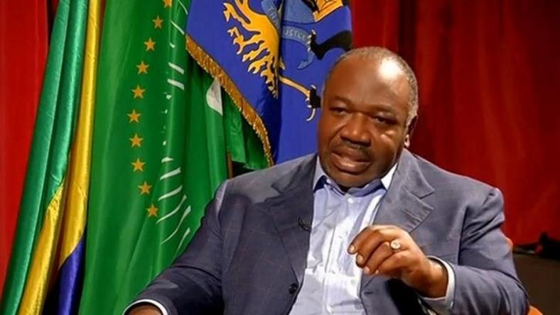A still image from video shows Gabon President Ali Bongo being interviewed in Libreville, Gabon, September 24, 2016.