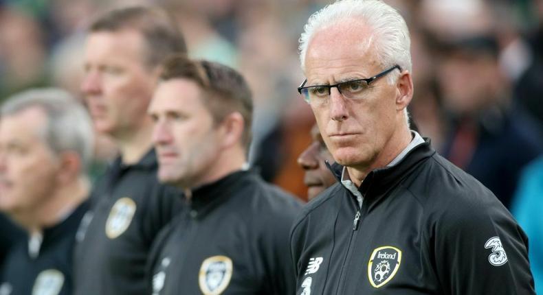 Under pressure - Cardiff manager Mick McCarthy Creator: Paul Faith