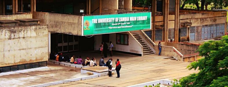The University of Zambia main library.