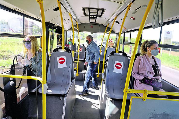 autobus korona