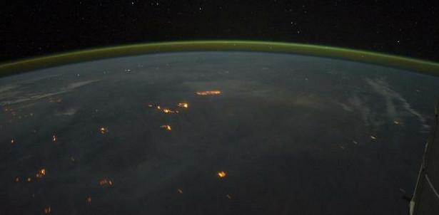 Pożary widziane z kosmosu Fot. dzięki uprzejmości NASA / JPL-Caltech