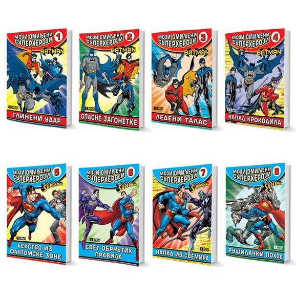 Moji omiljeni superheroji