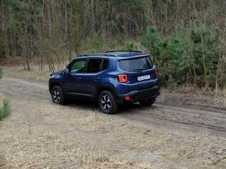 Jeep Renegade Trailhawk Plug-in Hybrid 240 KM