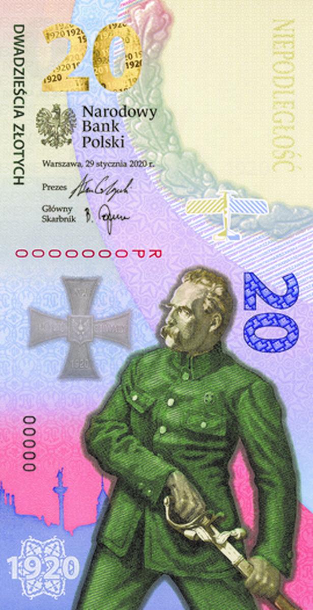 NBP wydało banknot kolekcjonerski z okazji rocznicy Bitwa Warszawska 1920
