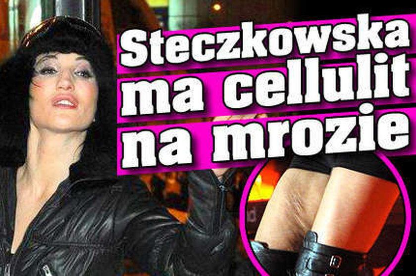 Steczkowska ma cellulit na mrozie
