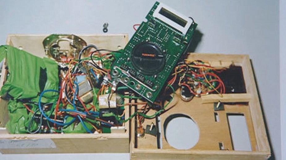 Urządzenie skonstruowane przez Ottona P.