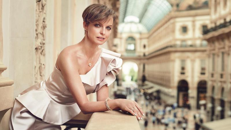 Katarzyna Sokołowska w kampanii marki Apart