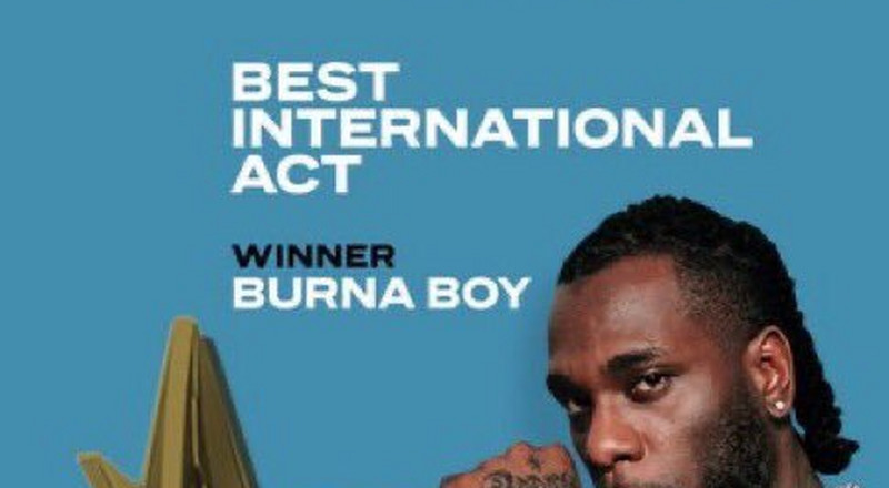 Burna Boy wins Best International Act at the BET Awards for the second consecutive time [Video]