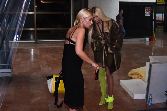 Nataša sa sestrom stilistkinjom Kristinom Bekvalac