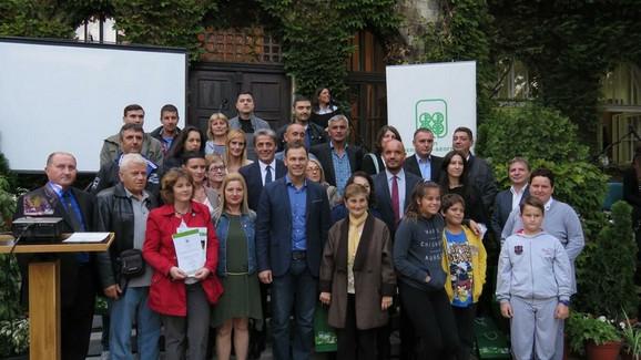 Dobitnici nagrada za najlepše balkone, dvorišta i zelene površine