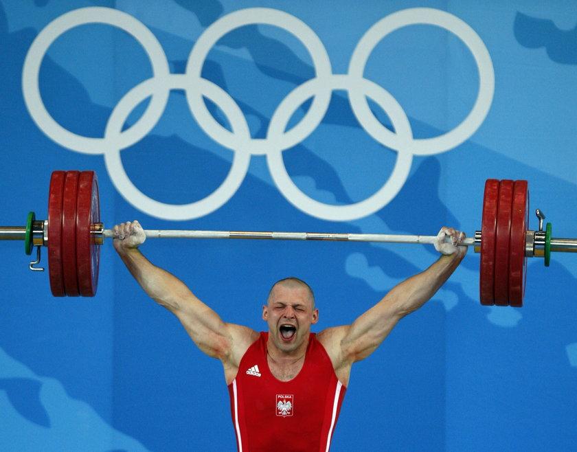 Szymon Kołecki (40 l.) ma dwa medale olimpijskie w podnoszeniu ciężarów