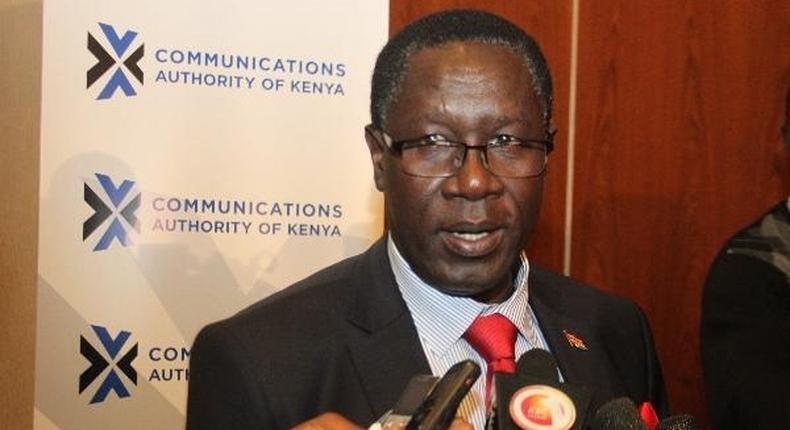The Communication Authority (CA) Francis Wangusi has refuted claims of spying on mobile phone usage through installation of new systems.
