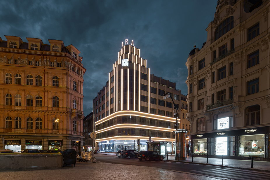 Pałac ARA w Pradze. Przedwojenna ikona modernizmu