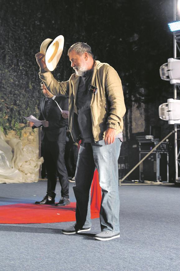 Branko Šmit se u ponedeljak uveče poklonio niškoj publici koja je imala priliku da vidi njegov film