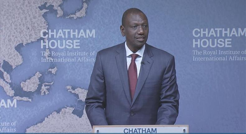 DP Ruto proposes drastic changes in government during Chatham House speech