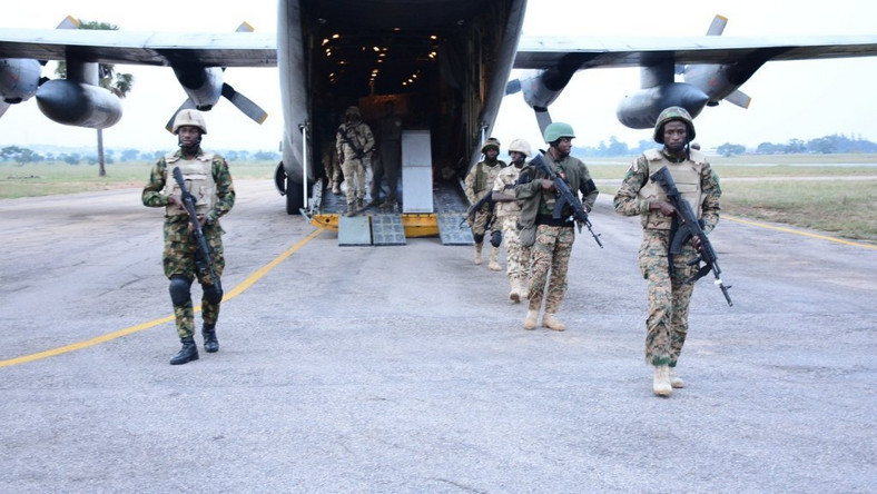 NAF Alpha jet kills 20 bandits near Munhaye, Zamfara [Twitter/@Hejeoma]