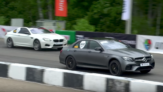 Merc-AMG E63 S vs 750 KM Audi RS7 vs 750 KM BMW M6