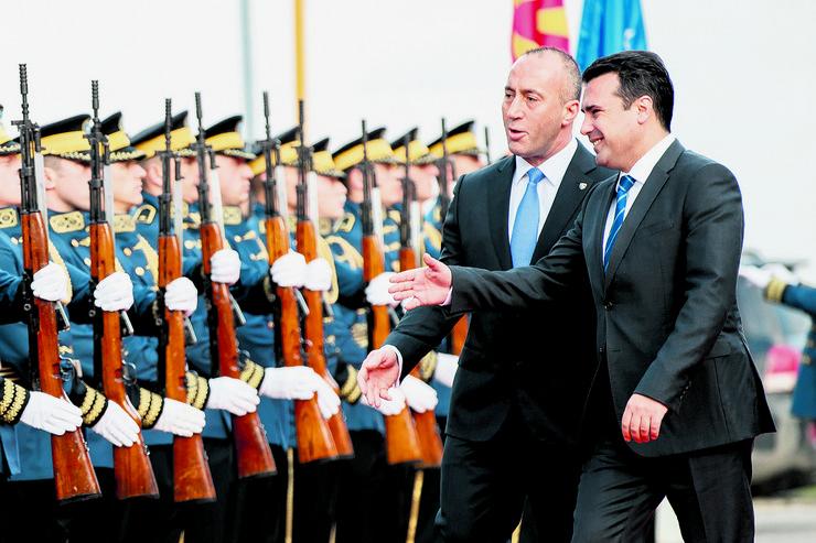 Zoran Zaev, Ramuš Haradinaj