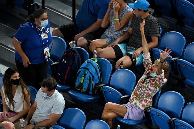 Navijačica koja je provocirala Rafaela Nadala na Australijan openu