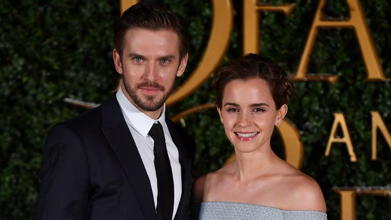 Dan Stevens i Emma Watson