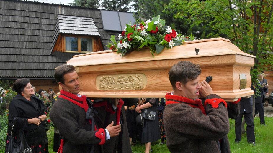 Pogrzeb Zofii Karpiel-Bulecki