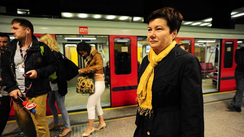 Hanna Gronkiewicz-Waltz, fot. Adam Stępień / Agencja Gazeta