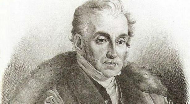 Adam Czartoryski. Fragment obrazu Seweryna Olszyńskiego