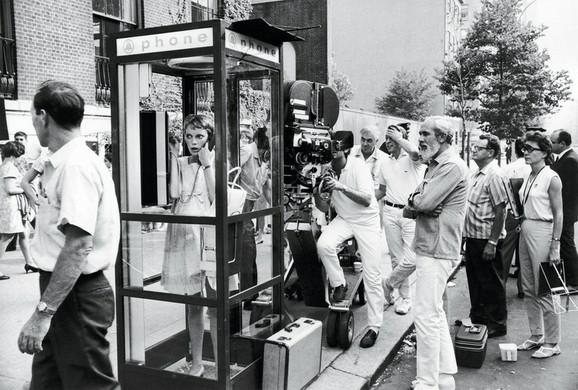 Mija Farou i Polanski na snimanju