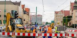 Koniec remontu na skrzyżowaniu Św. Marcin i Al. Niepodległości. Przed czasem!