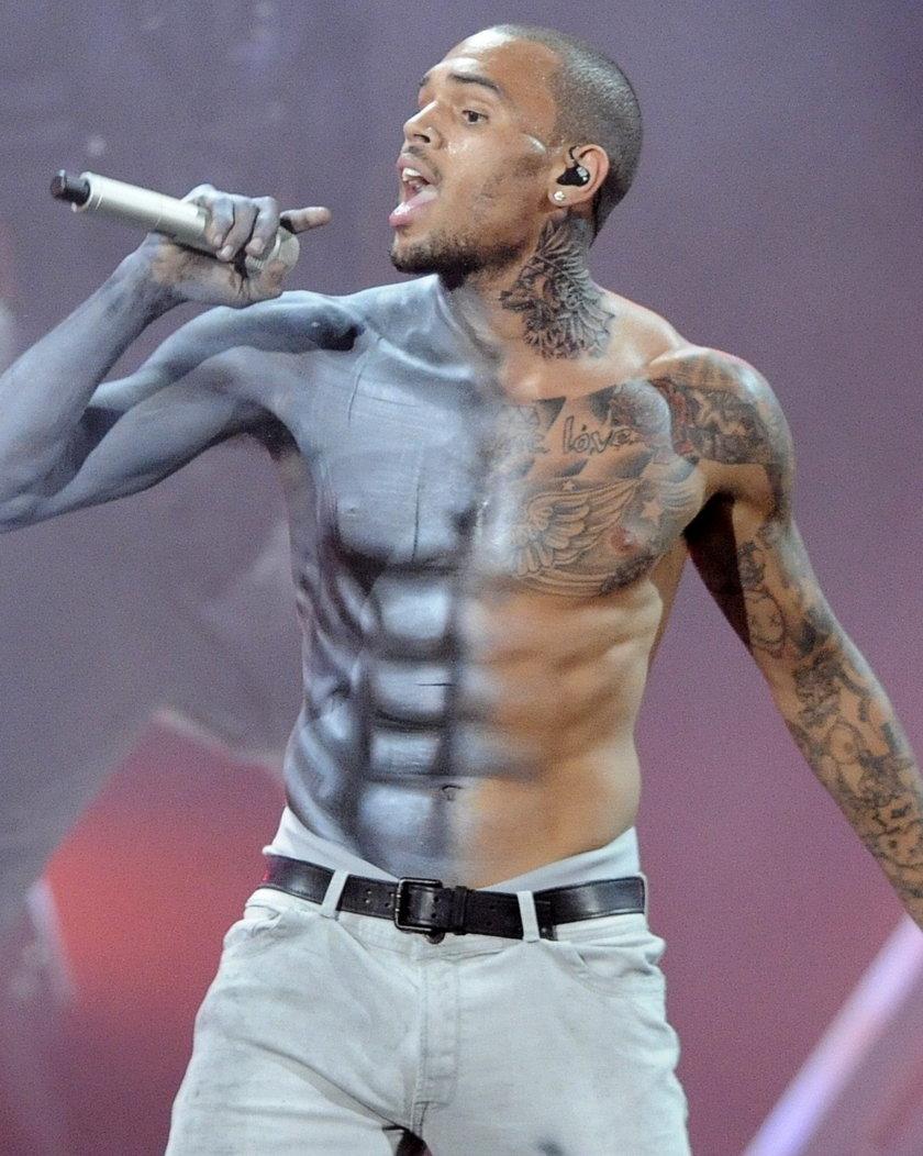 Kontrowersyjny raper Chris Brown