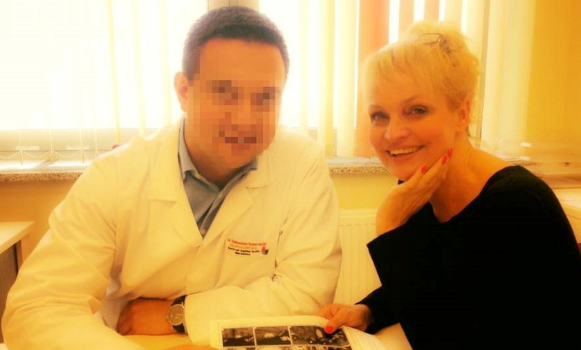 Adrianna Biedrzyńska, rak, choroba, gamma knife
