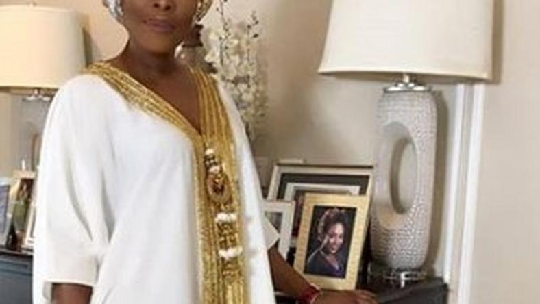 OOTD: Mo Abudu taps into Arabian Nights to the Royal Reception
