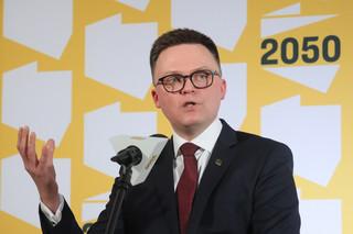 Hołownia przedstawił założenia planu uporządkowania relacji między państwem a Kościołem