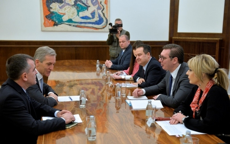 Aleksandar Vučić, Jurij Leanka, Moldavija