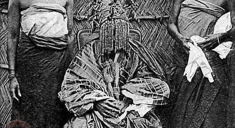 Alaafin of the old Oyo Empire [Omo Oodua]