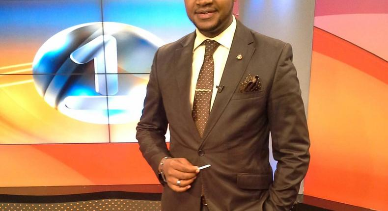 File image of Johnson Mwakazi at Citizen TV studios where he previosly worked as a journalist