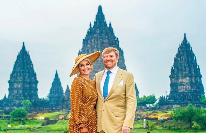 Kraljica Maksima sa suprugom