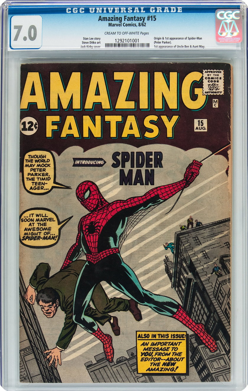 Walter Yacoboski sprzedał komiks wart miliony