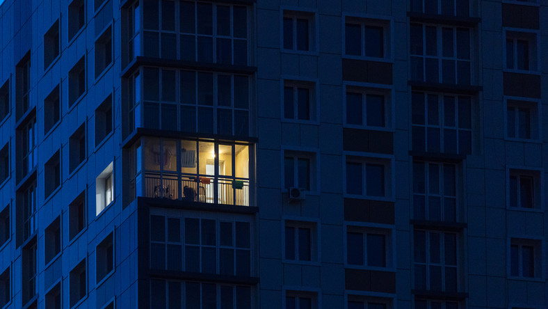 osiedle mieszkania blok okna