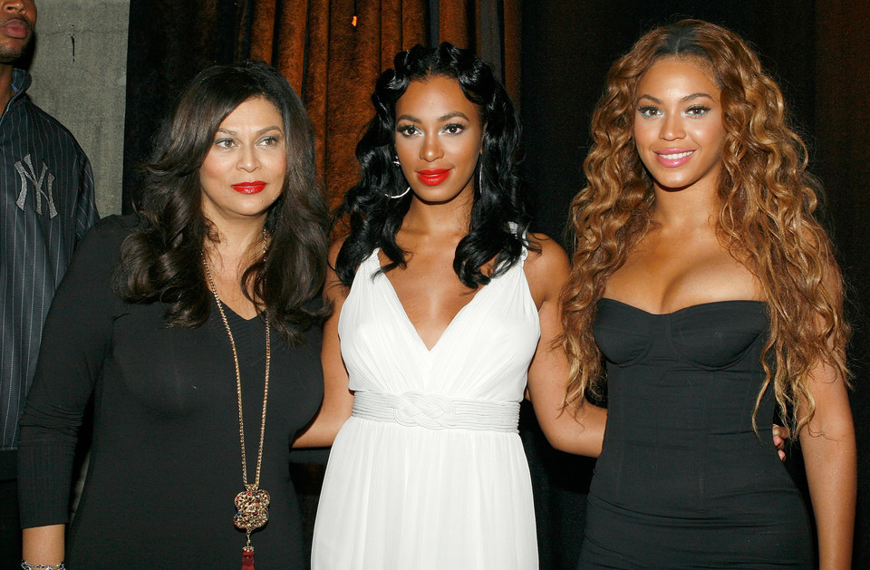 Tina, Solange i Beyonce Knowles (fot. Getty Images)