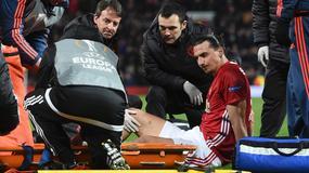 Zlatan Ibrahimović ma poważnie uszkodzone więzadła krzyżowe, leci do USA